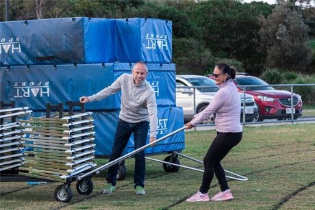 Hurdle trolley brought with Coles grant